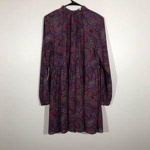 BB Dakota Dresses - Jack By BB Dakota Long Sleeve Paisley Dress M